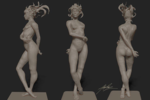 Digital Life Sculpting